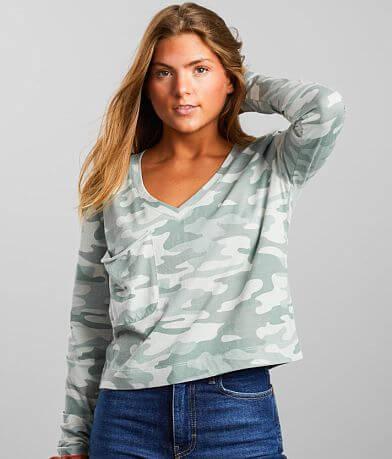Z Supply Skimmer Camo Pocket T-Shirt