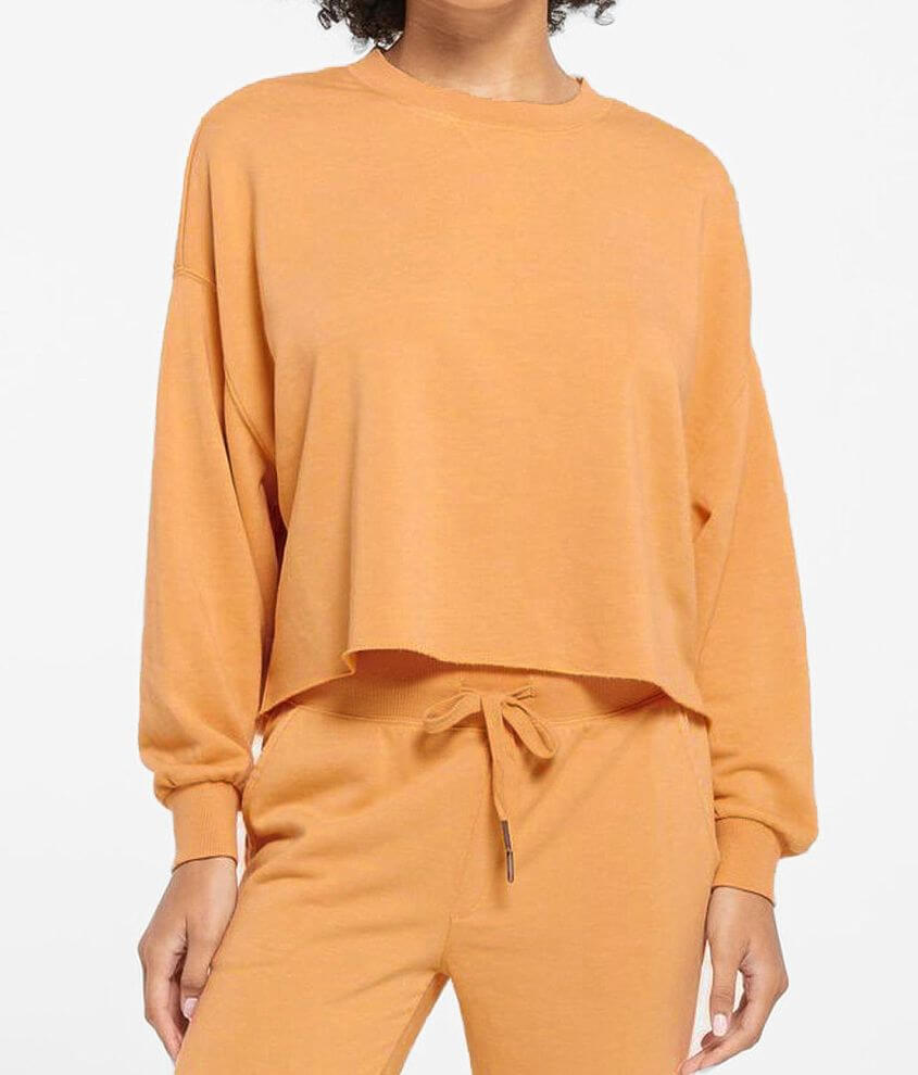 Z Lounge Izzy French Terry Pullover front view