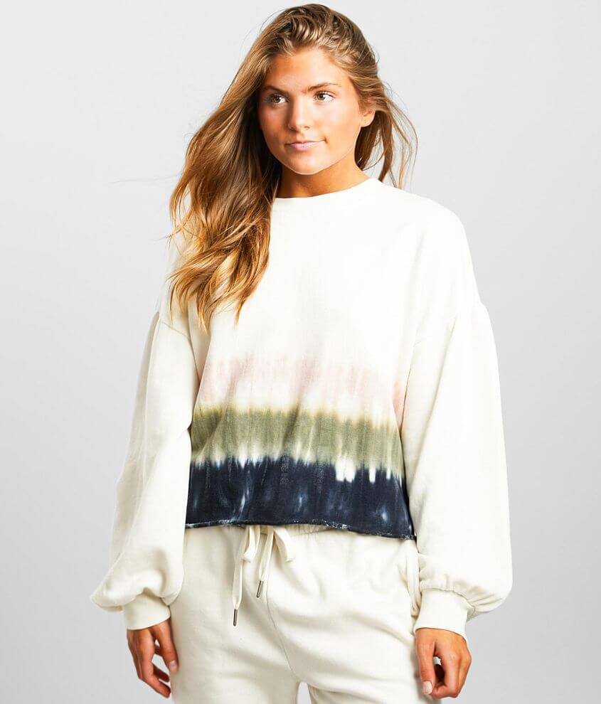 Z Supply Tempest Stripe Pullover front view