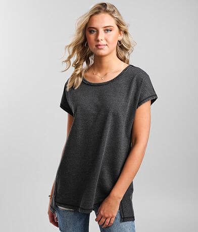 Z Supply Frankie Sweatshirt Tunic T-Shirt