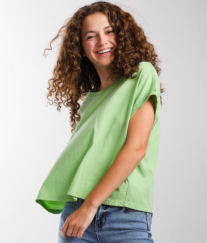 Z Supply Isla Organic Skimmer T-Shirt front view