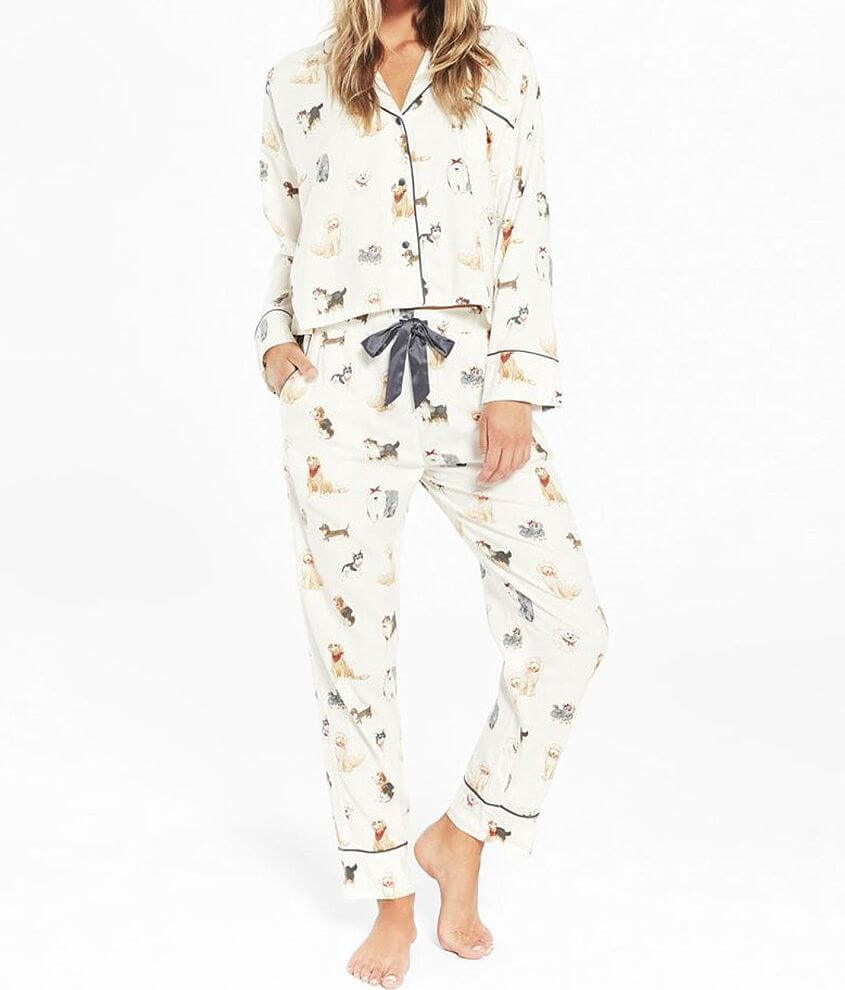 Z Lounge Dream State Pup Pajama Set front view