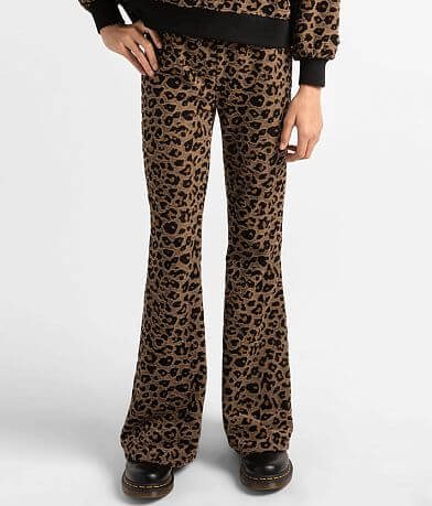 Girls - Z Supply Max Leopard Flare Pant