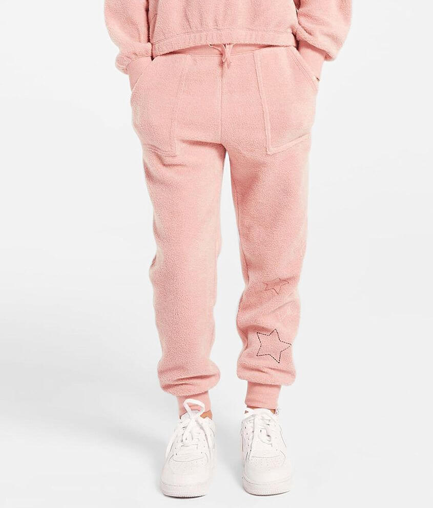 Girls - Z Supply Mick Fleece Jogger Sweatpant front view