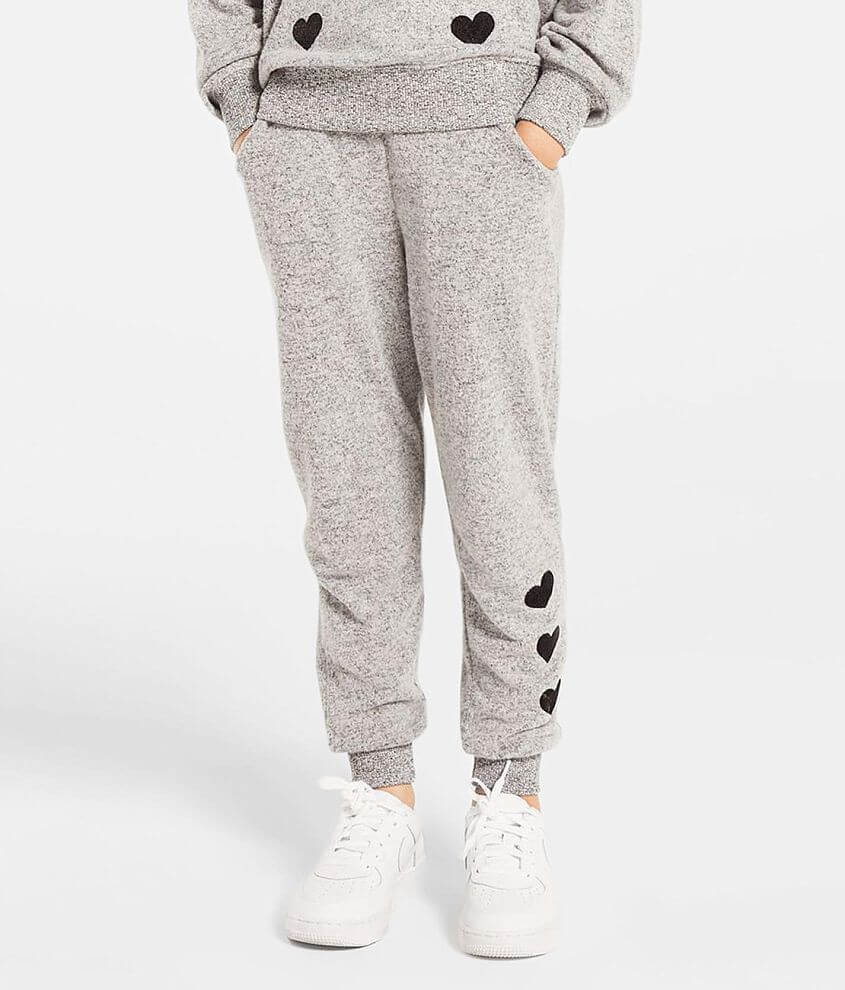 Girls - Z Supply Noah Brushed Knit Jogger front view