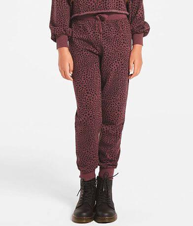 Girls - Z Supply Ava Star Print Jogger Sweatpant