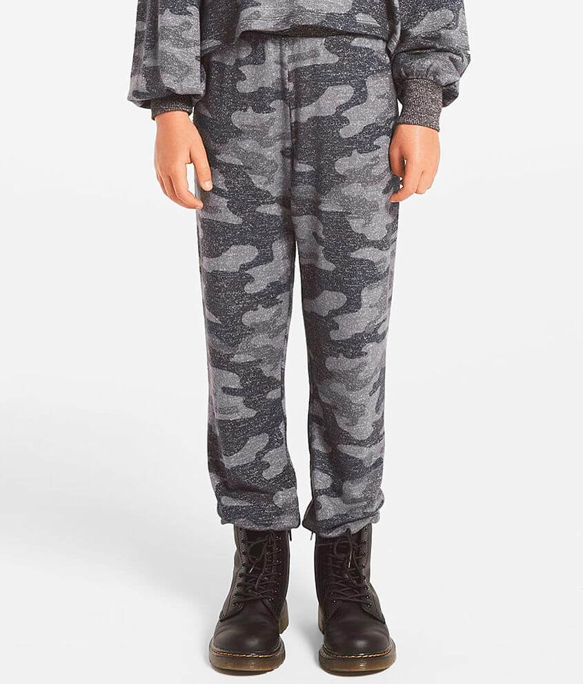 Girls - Z Supply Bella Camo Jogger front view