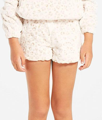 Girls - Z Supply Stella Frosted Leopard Short