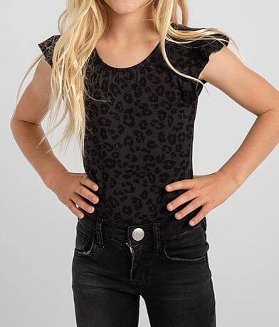 Girls - Z Supply Noe Leopard Bodysuit