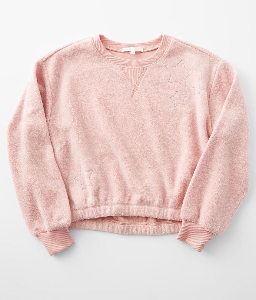 Girls - Z Supply Logan Fleece Pullover front view