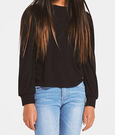 Girls - Z Supply Sasha Puff Sleeve Top