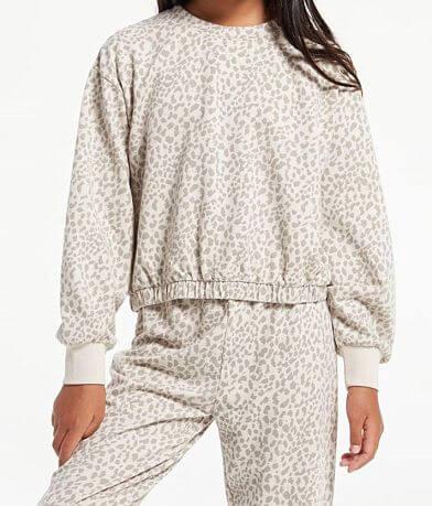 Girls - Z Supply Carmon Leopard Print Pullover