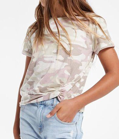 Girls - Z Supply Teagan Camo T-Shirt