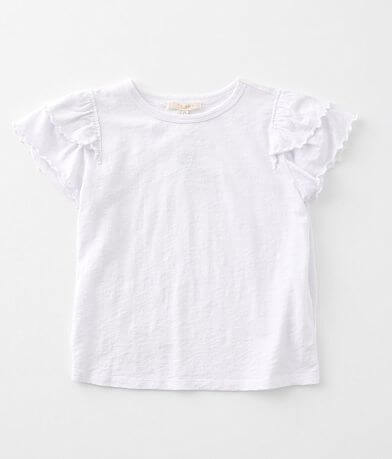 Girls - Z Supply Lila Ruffle T-Shirt