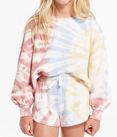 Girls - Z Supply Mayori Tie Dye Pullover