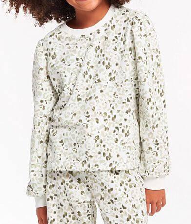 Girls - Z Supply Hova Leopard Pullover