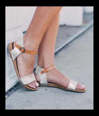 Zigi Soho Metallic Sandal