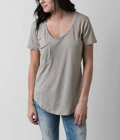 White Crow Heathered Top