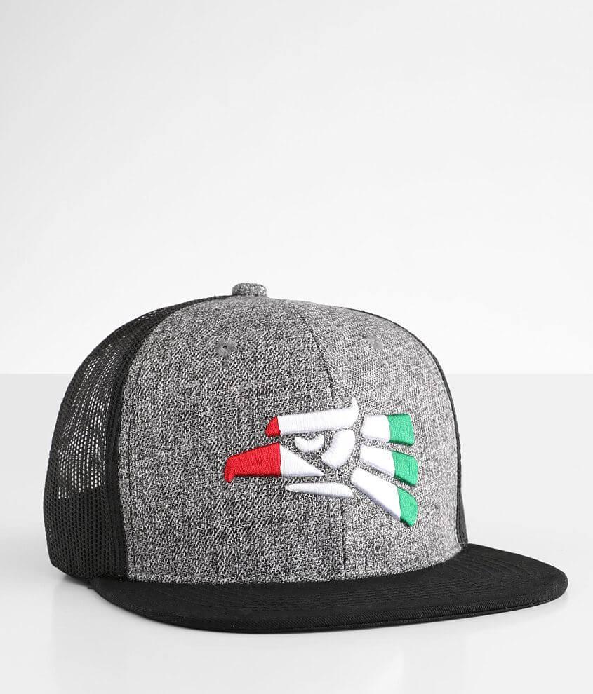 Zion Hecho Trucker Hat front view