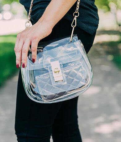 Clear Creations Stadium Purse