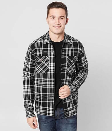 Outpost Makers Reversible Plaid Shacket