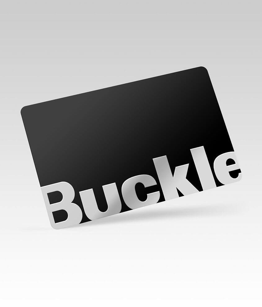 Buckle Gift Card front view